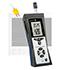 Registradores de datos PCE-320 que mide temperatura, humedad, punto de rocío, dos conexiones para sondas de temperatura