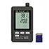 Registradores de datos PCE-HT110 con sensor para temperatura y humedad.