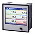 Registradores de datos PCE-KD9 multicanal con memoria hasta 72 entradas analógicas, RS485, 36 salidas de termoelementos, pantalla TFT