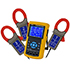Registradores de datos PCE-PA 8000 para mediciones de 1 a 3 fases de todas las magnitudes eléctricas, con tarjeta de memoria SD