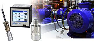 Sensores de vibración para profesionales para la inspección y control