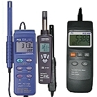 Termohigrómetros con logger de datos, memoria, transmisión al PC, software