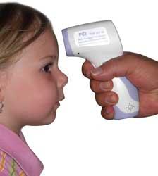 Termómetros infrarrojos para bebes sin contacto faciles de manejar