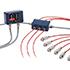 Termómetros infrarrojos PCE-IR 56 miden la temperatura superficial sin contacto, pantalla OLED, Modbus, rango de -20 ... 1000 ºC