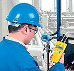 Imagen de uso de los transductores de presión