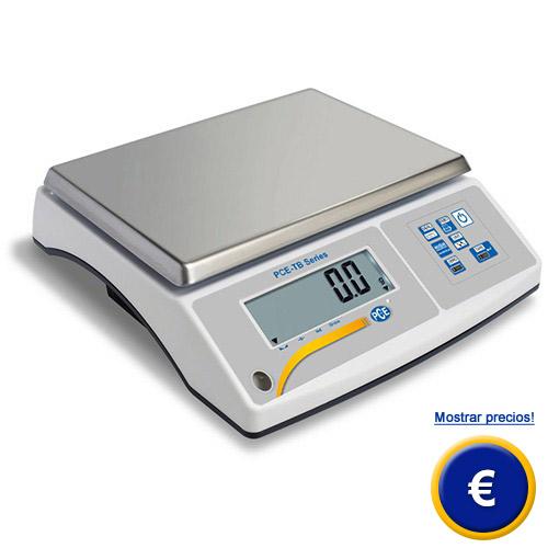 Más información acerca de la balanza compacta serie PCE-TB