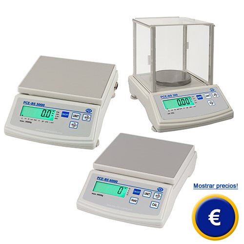 Balanza de laboratorio PCE-BS-300.