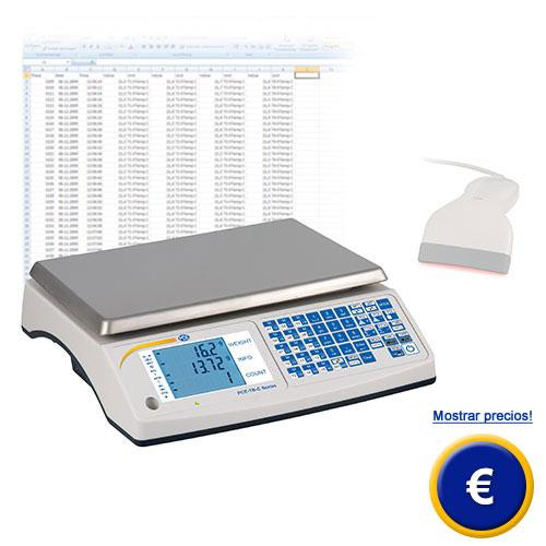 Más información sobre la balanza de mesa serie PCE-TB C