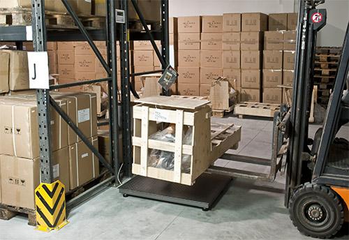 Balanza de suelo verificable de la serie PCE-SD E hasta 6.000 kg