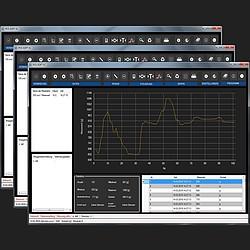 Paquete software PCE-SOFT-SC-3XPro para la balanza compacta
