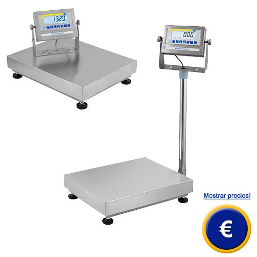 Balanza de plataforma con pantalla Jumbo.