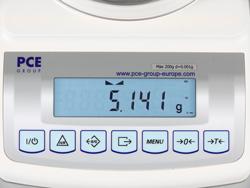 Báscula de precisión PCE-BT