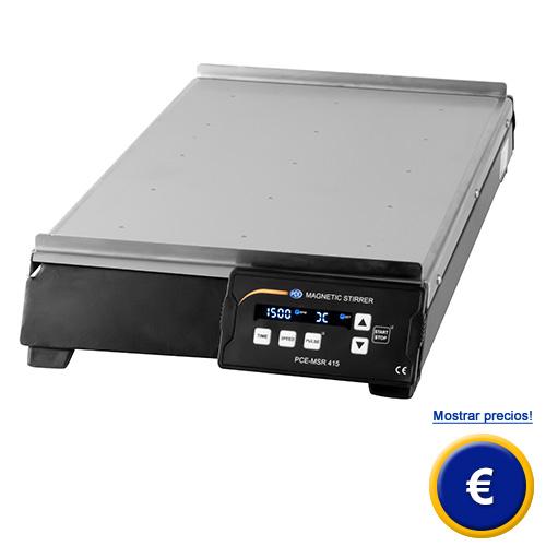 Más información acerca del agitador magnetico PCE-MSR 410 o PCE-MSR 415