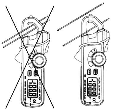 Ejemplo de como utilizar el amperímetro PCE-DC3.