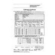 Certificado de calibración ISO para el anemómetro de tubo de Pitot.