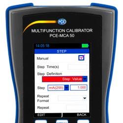 Gran pantalla LCD de fácil lectura del calibrador universal