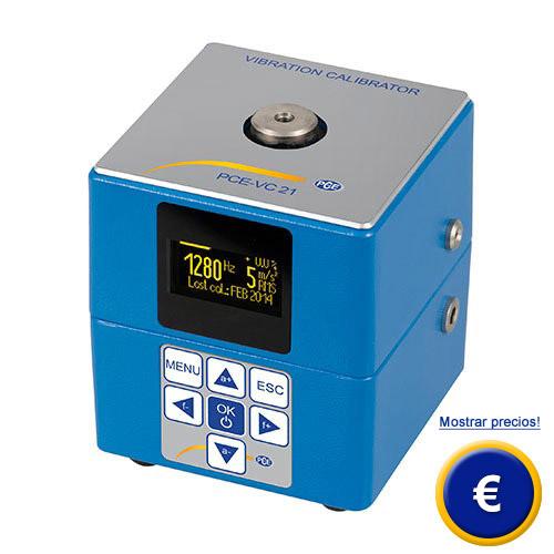 Más información acerca del calibrador de vibraciones serie PCE-VC