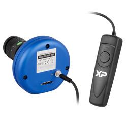 Conexiones y Trigger de la cámara de alta velocidad