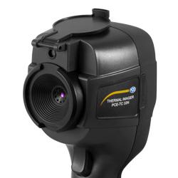 Imagen del sensor de la camara infrarroja PCE-TC 33N