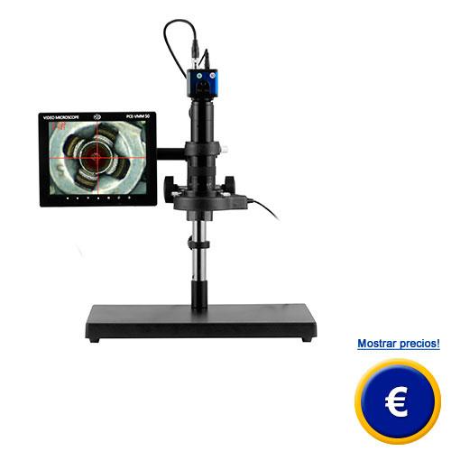Más información acerca del cámara microscópica PCE-VMM 50