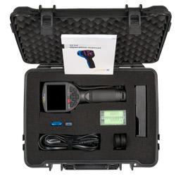 Aquí se aprecia el contenido de envío de la cámara térmica PCE-TC 34