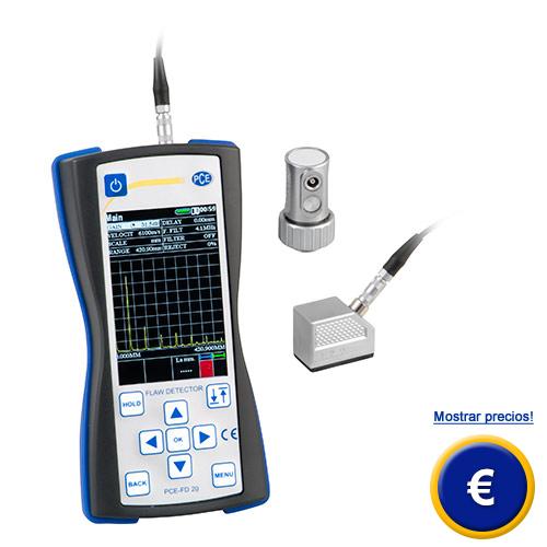 Más información sobre el comprobador de fallas por ultrasonido PCE-FD 20