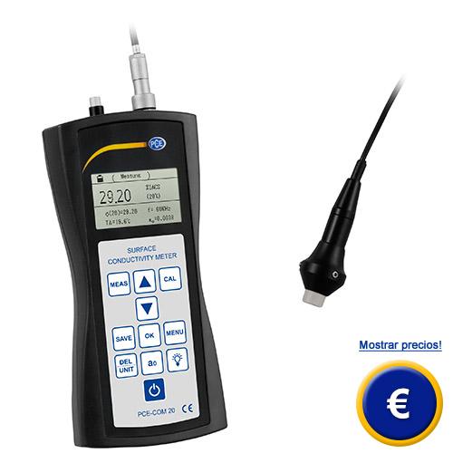 Más información acerca del conductímetro PCE-COM 20