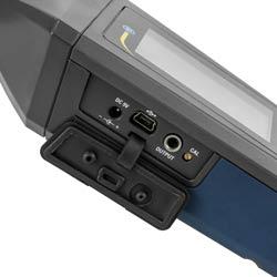 Conexiones del decibelímetro PCE-322A