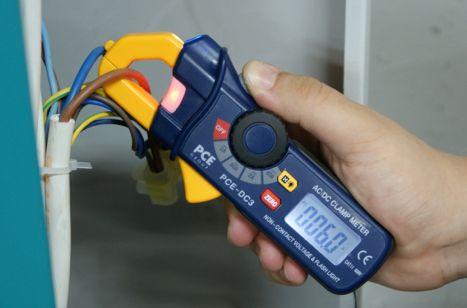 Detectores de corriente eléctrica
