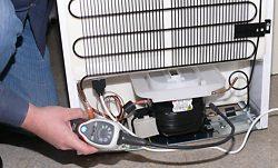 Este detector de gas refrigerante tambien puede utilizarse en un sistema de refrigeración.