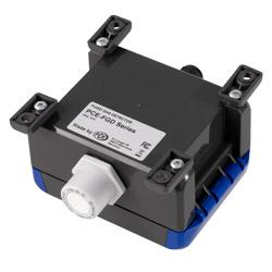Montaje vertical con los soportes de montaje del detector de gas serie PCE-FGD