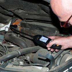 Ejemplo de uso del detector de gases combustibles PCE-GA 12