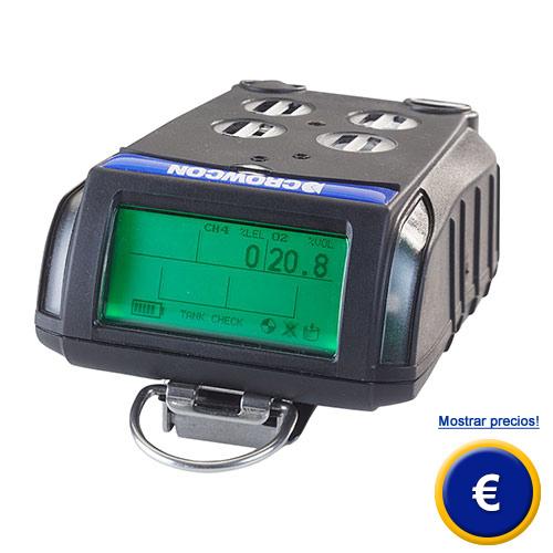 El detector de gases Tetra detecta 4 variedades de gases a la vez  (p.e monóxido de carbono, oxígeno, sulfuro de hidrógeno, metano).