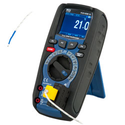 Medición de temperatura del detector de voltaje digital