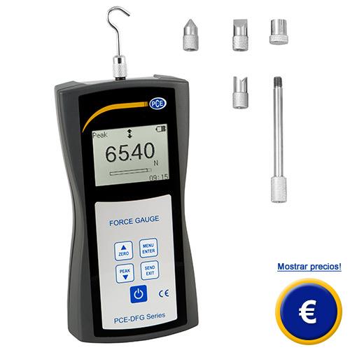 Más información acerca del dinamometro digital PCE-DFG 500