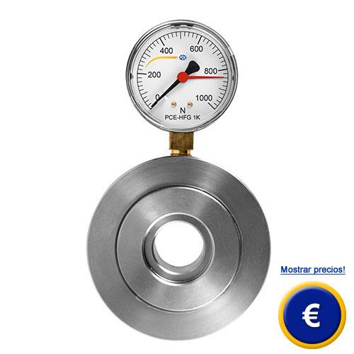Más información acerca del dinamometro hidraulico serie PCE-HFG.