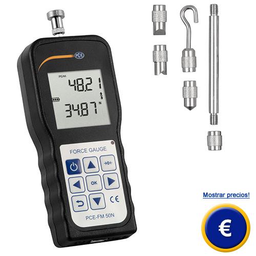 Más información sobre el medidor de transmisión luminosa PCE-TT 100