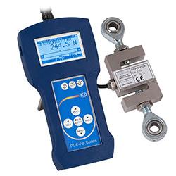 Dinamometro de precision con célula de carga externa