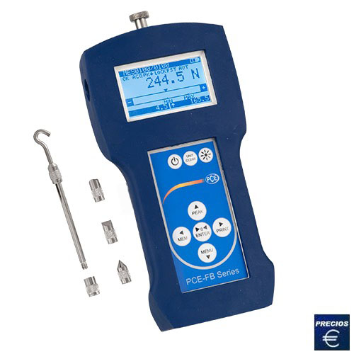 Más información acerca del dinamómetro de precisión serie PCE-FB