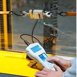 Dinamometro de precision PCE-FB K con célula de carga externa