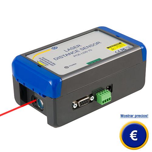 Medidor de distancia l/áser hasta 600 m PCE-LRF 500 PCE Instruments