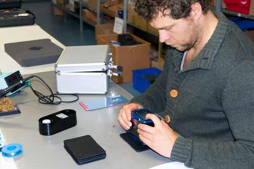 Uso del espectrómetro de rejilla