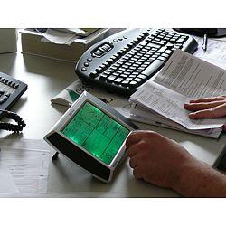 Uso de la estación meteorológica PCE-FWS 20 a través de su pantalla táctil