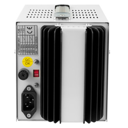 Refrigeración pasiva de la fuente de alimentación de sobremesa PCE-LPS 1305