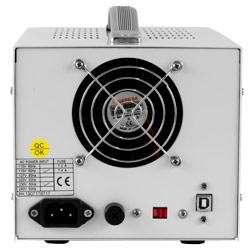 Conexiones de la fuente de alimentación programable PCE-LPS 3305