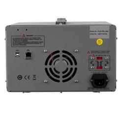 Vista posterior de la fuente de alimentación programable PCE-PPS 3305