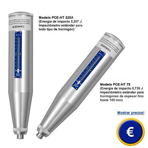 Más información acerca del impactometro PCE-HT 225A / 75 en nuestra web