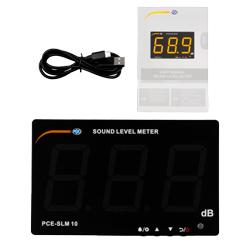 Contenido de envío del indicador de ruido PCE-SLM 10