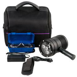 Contenido de envío de la cámara de inspección UV PCE-UVL 10