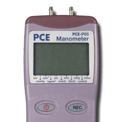 Manometro PCE-P05 para una presión máxima de 10 psi